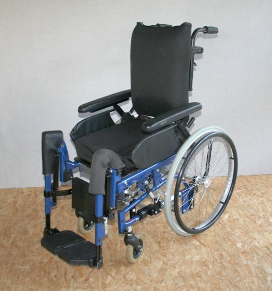 Multifunktions-/ Pflegerollstuhl Alu Rehab Sense / SB 35 - 44