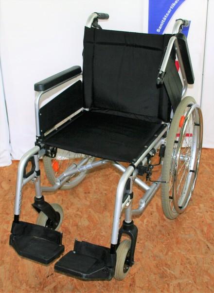 Faltrollstuhl Dietz Primo Basico/SB 44/ mit Bremsen für Begleitperson