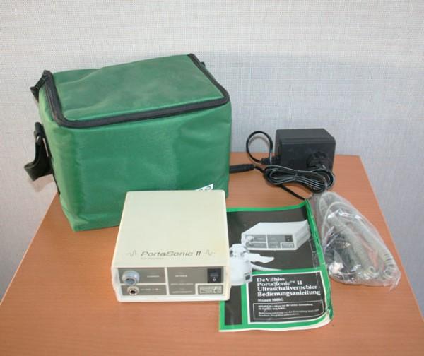 Ultraschall Vernebler DeVILLBISS Porta Sonic mit Tasche Teileträger