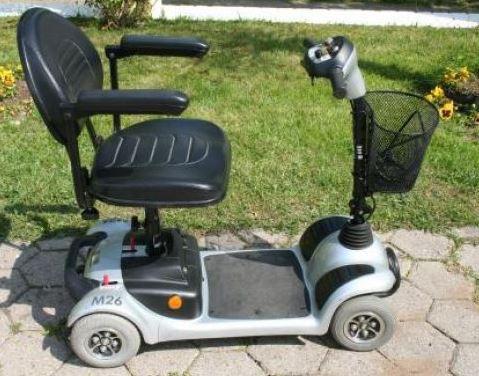 Elektromobil / Scooter M26 / 6km/h / zerlegbar