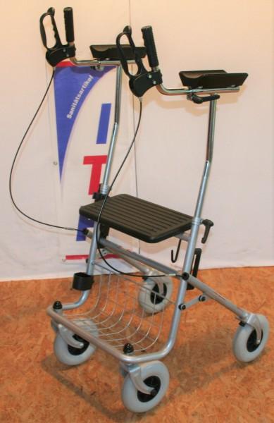 Rollator mit Unterarmauflagen / Arthritis Gehwagen
