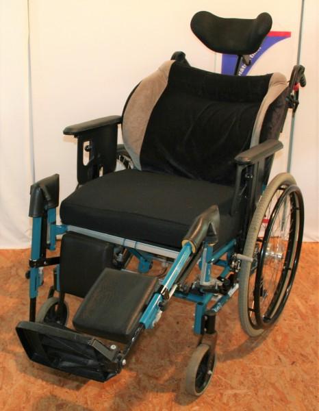 Pflege- & Multifunktionsrollstuhl Netti III Alu Rehab / SB 55
