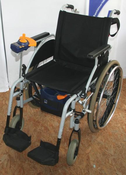 Max-E mit Rollstuhl SB 46 / Rollstuhl mit elektroantrieb