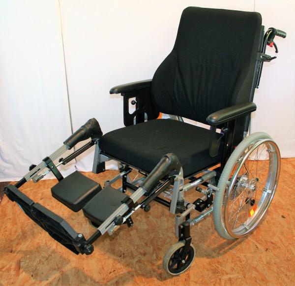 Pflegerollstuhl / Multifunkstionsrollstuhl Netti Stabil/ SB 47 - 50 cm