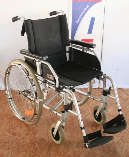 Faltrollstuhl Trendmobil mit höhenverstellbaren Armlehnen; Sitzhöhe einstellbar SB 44 cm