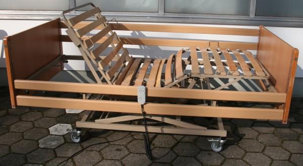 Pflegebett / Seniorenbett Casa Med II elektr. verstellbar 90 X 200 cm
