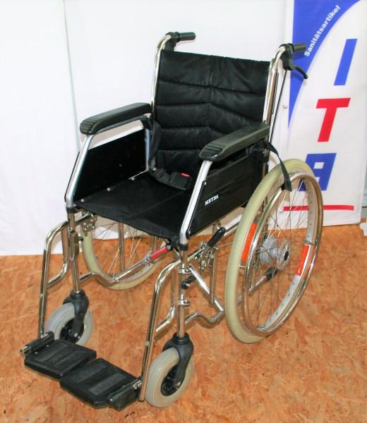 Faltrollstuhl / Meyra 3600 / Sitzbreite 39 cm / Steckachsen